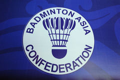 Logotipo da confederação de Ásia do Badminton Foto de Stock Royalty Free