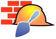 Logotipo da construção Fotografia de Stock Royalty Free