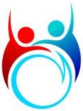 Logotipo da conversação Imagens de Stock Royalty Free