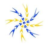 Logotipo da cor Imagens de Stock