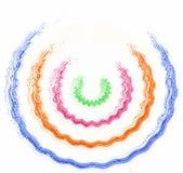 Logotipo da cor Imagens de Stock Royalty Free