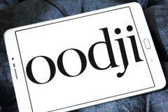 Logotipo da corrente da forma de Oodji Fotografia de Stock Royalty Free