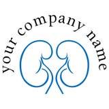 Logotipo da diálise foto de stock royalty free