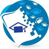 Logotipo da educação Fotografia de Stock Royalty Free