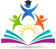 Logotipo da educação ilustração stock