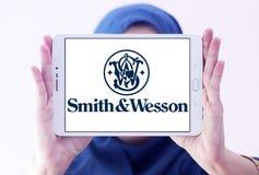 Logotipo da empresa das armas de fogo de Smith & de Wesson Imagem de Stock