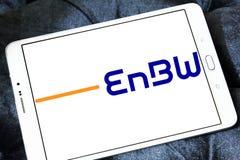 Logotipo da empresa das companhias de eletricidade de EnBW imagens de stock royalty free