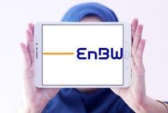 Logotipo da empresa das companhias de eletricidade de EnBW foto de stock royalty free