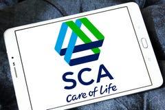Logotipo da empresa das ESCUMALHAS fotos de stock