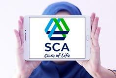 Logotipo da empresa das ESCUMALHAS fotos de stock royalty free