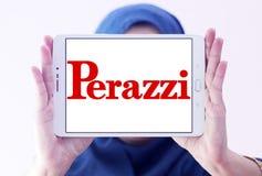Logotipo da empresa das espingardas de Perazzi Fotos de Stock