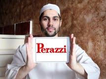 Logotipo da empresa das espingardas de Perazzi Imagem de Stock