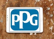 Logotipo da empresa das indústrias de PPG Fotos de Stock Royalty Free