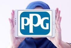 Logotipo da empresa das indústrias de PPG Fotos de Stock