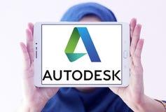 Logotipo da empresa de Autodesk Fotografia de Stock Royalty Free