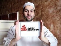 Logotipo da empresa de Avery Dennison Imagens de Stock Royalty Free