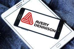 Logotipo da empresa de Avery Dennison Imagem de Stock Royalty Free