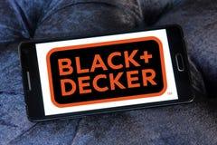 Logotipo da empresa de Black and Decker fotografia de stock royalty free