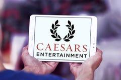 Logotipo da empresa de Caesars Entertainment fotografia de stock