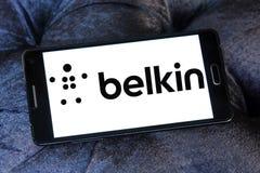 Logotipo da empresa de eletrônica de Belkin imagem de stock royalty free