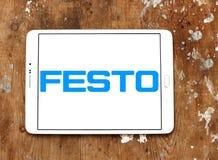 Logotipo da empresa de eletrônica de Festo foto de stock