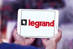 Logotipo da empresa de eletrônica de Legrand foto de stock royalty free