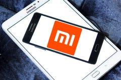 Logotipo da empresa de eletrônica de Xiaomi Foto de Stock