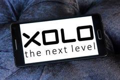 Logotipo da empresa de eletrônica de XOLO Fotos de Stock Royalty Free