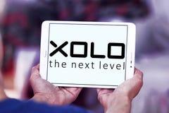 Logotipo da empresa de eletrônica de XOLO Fotografia de Stock