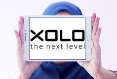 Logotipo da empresa de eletrônica de XOLO Imagem de Stock Royalty Free