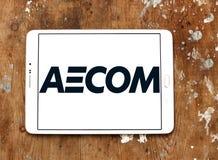 Logotipo da empresa de engenharia de AECOM Foto de Stock Royalty Free