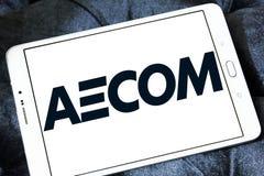 Logotipo da empresa de engenharia de AECOM Fotos de Stock