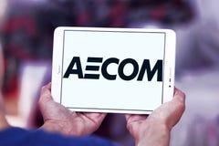 Logotipo da empresa de engenharia de AECOM Imagem de Stock Royalty Free