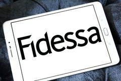 Logotipo da empresa de Fidessa Foto de Stock
