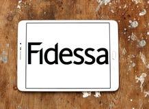 Logotipo da empresa de Fidessa Imagens de Stock