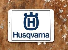 Logotipo da empresa de Husqvarna Imagem de Stock Royalty Free