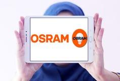 Logotipo da empresa de iluminação de Osram Imagem de Stock Royalty Free