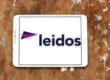 Logotipo da empresa de Leidos Fotografia de Stock