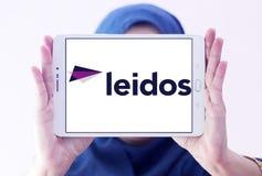 Logotipo da empresa de Leidos Foto de Stock Royalty Free