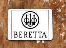 Logotipo da empresa de manufatura das armas de fogo de Beretta Imagem de Stock Royalty Free
