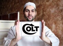 Logotipo da empresa de manufatura do ` s do potro Imagem de Stock