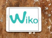 Logotipo da empresa de manufatura do smartphone de Wiko Fotografia de Stock Royalty Free
