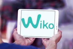 Logotipo da empresa de manufatura do smartphone de Wiko Imagens de Stock Royalty Free