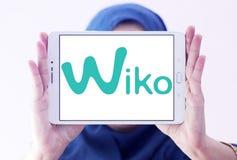 Logotipo da empresa de manufatura do smartphone de Wiko Imagem de Stock Royalty Free