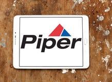 Logotipo da empresa de Piper Aircraft Imagem de Stock