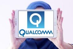 Logotipo da empresa de Qualcomm Imagem de Stock Royalty Free
