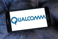 Logotipo da empresa de Qualcomm Foto de Stock Royalty Free
