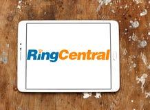 Logotipo da empresa de RingCentral Fotografia de Stock