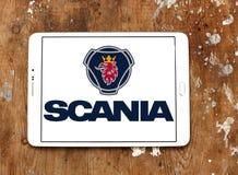 Logotipo da empresa de Scania Fotos de Stock