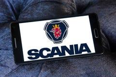 Logotipo da empresa de Scania Fotografia de Stock